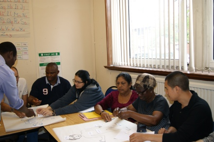 Witnessing English My Way in action at London Community College