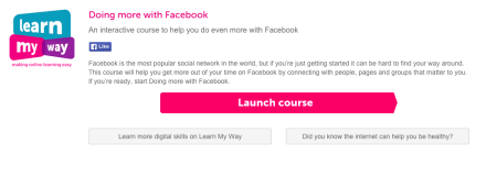 Learn My Way - Doing More with Facebook