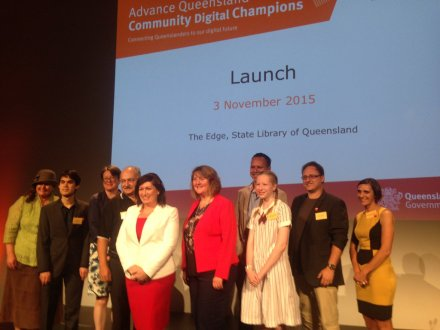 Amazing to meet the fab @LeeanneEnoch and the Qld Digital Champions #digitalinclusion