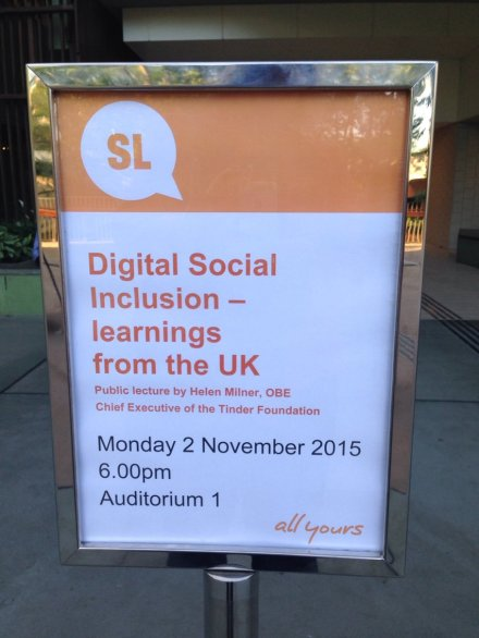 Looking forward to tonight ... ! #digitalinclusion in Australia @godigiaustralia
