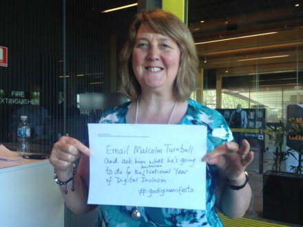 Pledge for Australian Year of Digital Inclusion #godigimanifesto #digitalinclusion